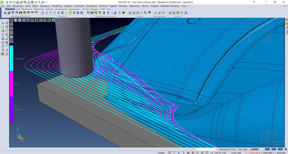 VISI CAD/CAM 2017 R1